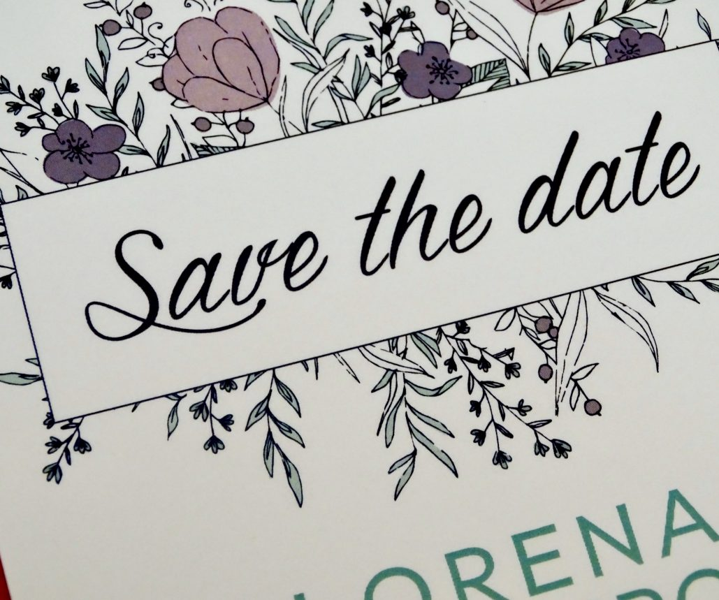 Save the date Fiore